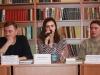 21 українські письменники М.Рошко, В.Терлецький, Є.Положій та поетка Л.Якимчук